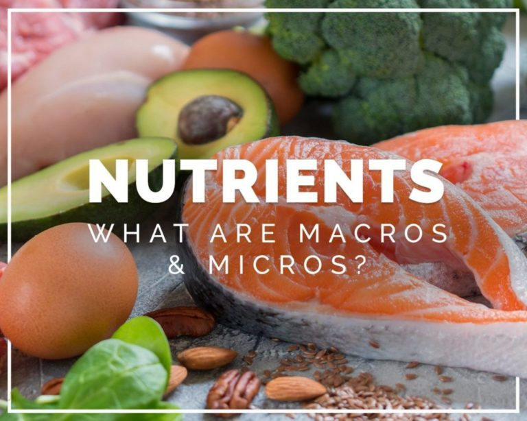 Nutrients - what are macros and micros?